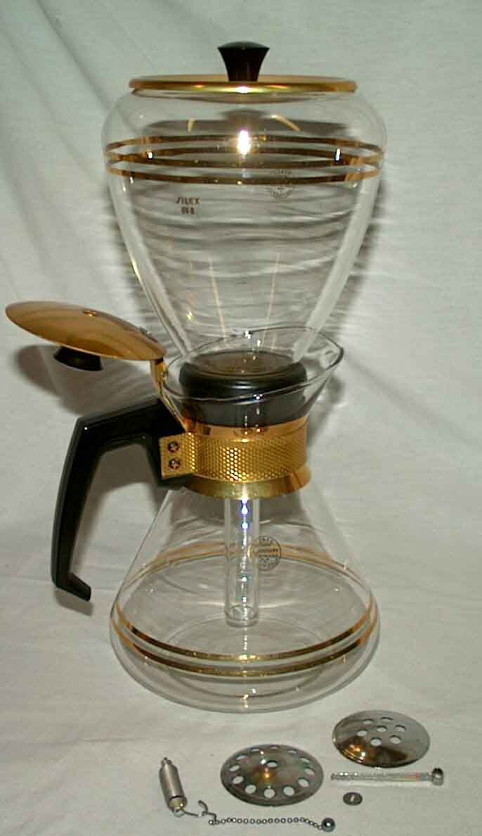 Old Silex Coffee Maker : Silex Vacuum Coffee Maker Coffee Pinterest Vacuum Coffee Maker, Coffee Maker and Vacuums